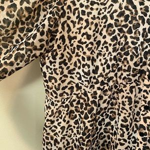 Maurices Tops - Maurices leopard tunic top size xl